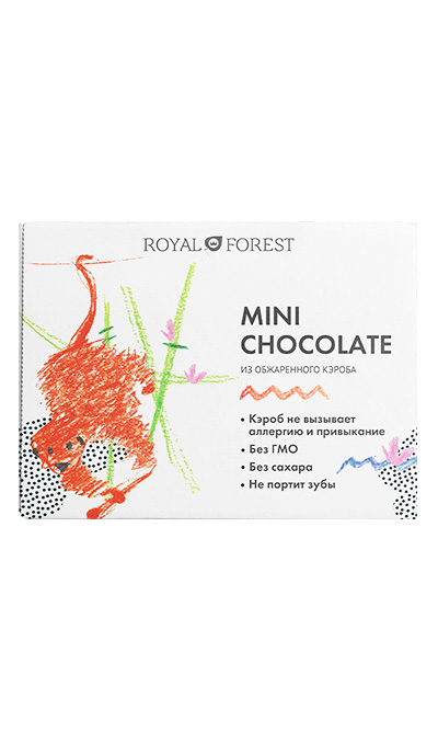 Mini Chocolate из обжаренного кэроба, 30 гр