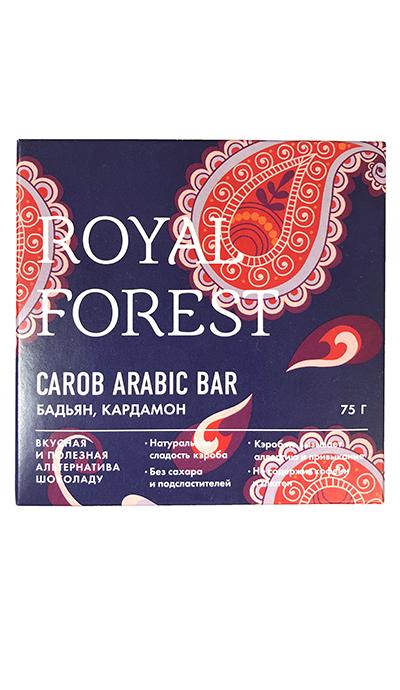 Арабский шоколад Royal Forest c бадьяном и кардамоном