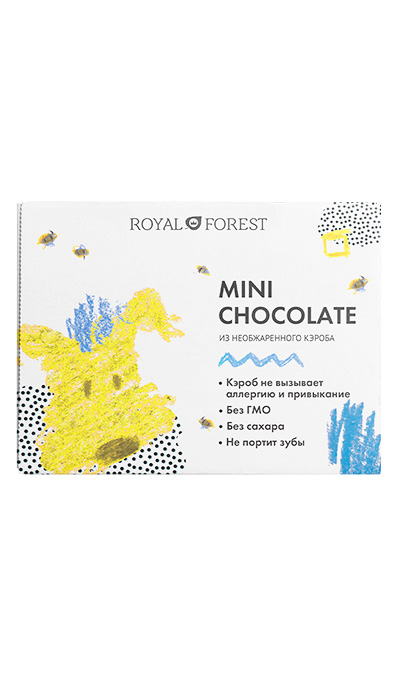 Mini Chocolate из необжаренного кэроба, 30 г
