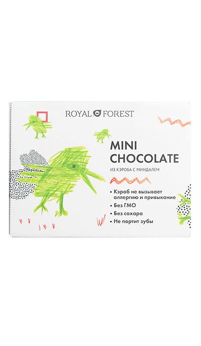 Mini Chocolate из кэроба с миндалем, 30 г фото