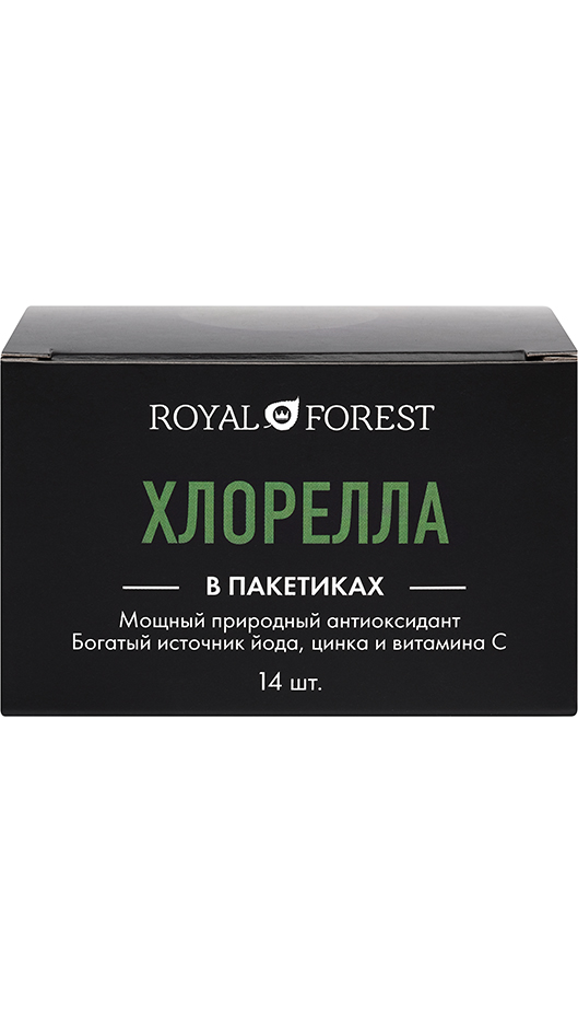 Хлорелла Royal Forest саше, 28 гр