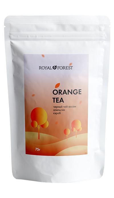 Апельсиновый чай Royal Forest с корицей