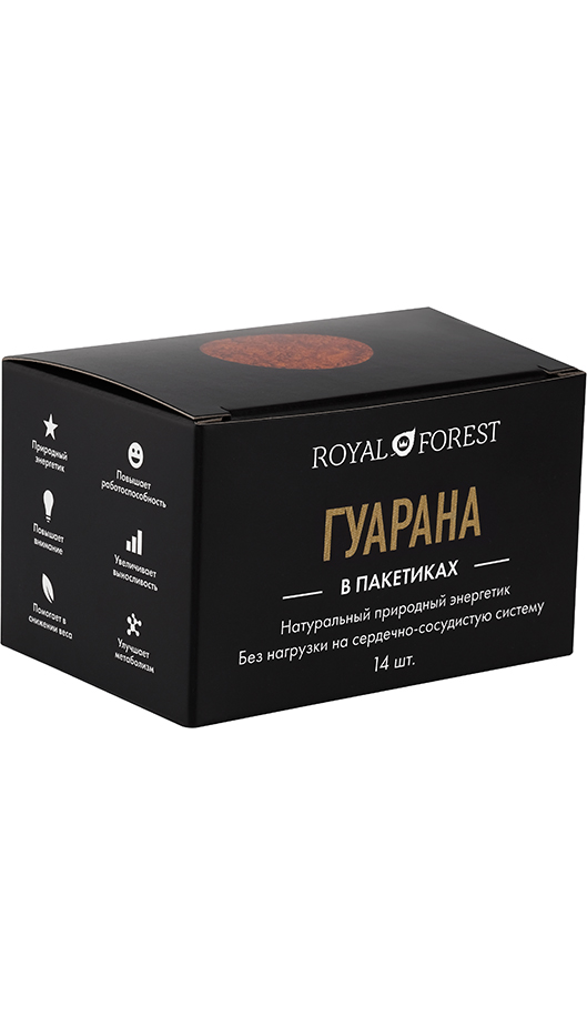 Гуарана Royal Forest саше, 28 гр