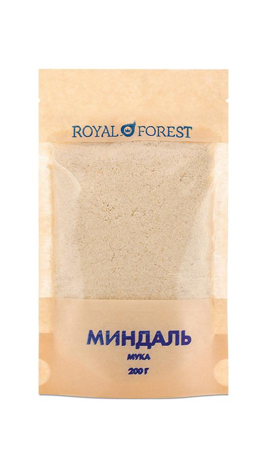 Миндальная мука Royal Forest фото