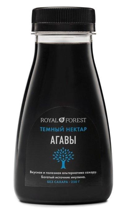Темный нектар агавы Royal Forest, 250 гр