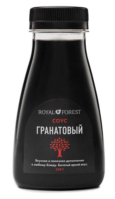 Гранатовый соус Royal Forest, 250 гр фото