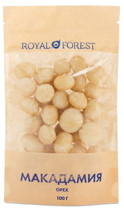 Орех макадамия Royal Forest, 100 гр фото