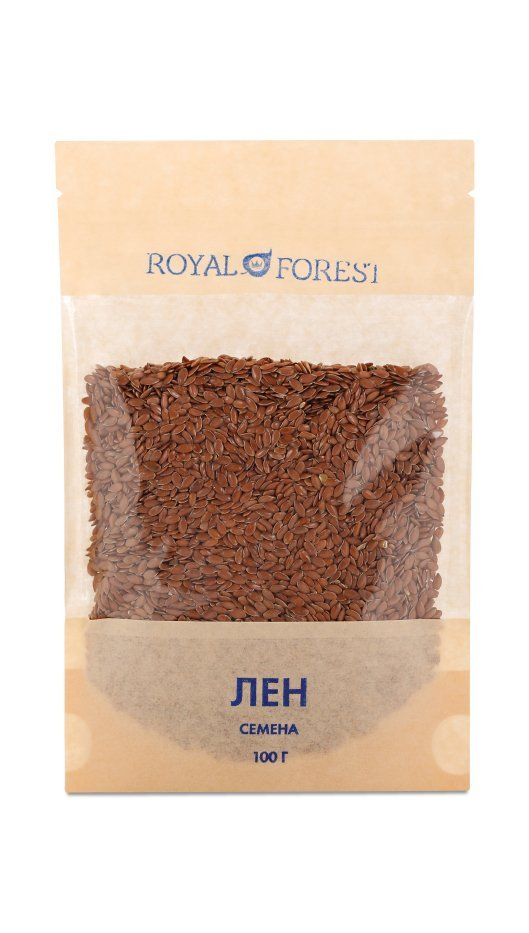 Лен (семена) Royal Forest, 100 гр фото