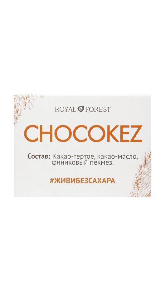 Шоколад Royal Forest Chocokez на финиковом пекмезе, 30 гр