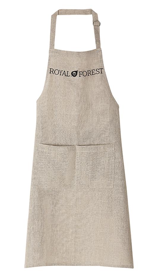 Кухонный фартук с надписью Royal Forest