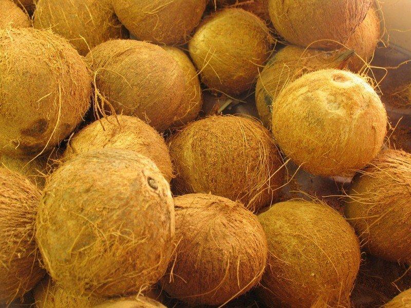 стружка из кокосов