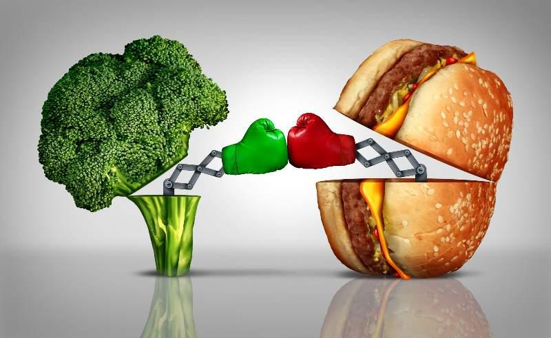 Возможные заболевания при неправильном питании