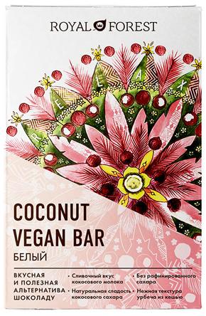 Coconut vegan bar белый: наслаждение нежностью